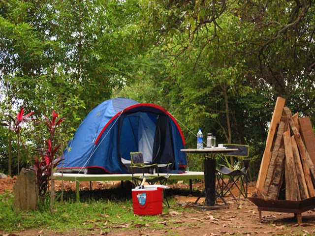 Camping Tent Mangomist Resort Bangalore